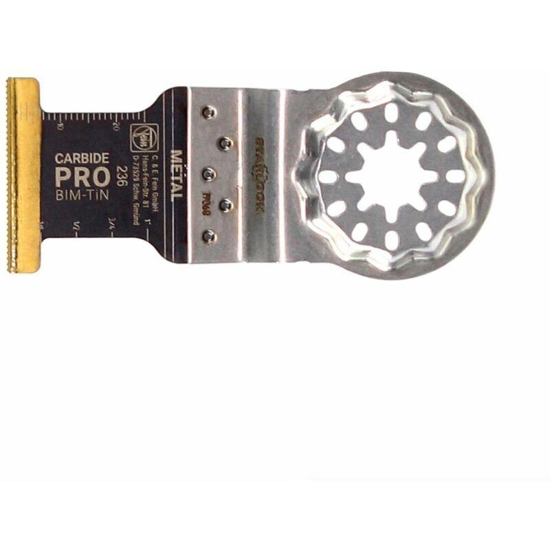 FEIN E-Cut Lame de scie Carbide Pro Starlock BI-Metall, 10 pièces 35 x 45 mm