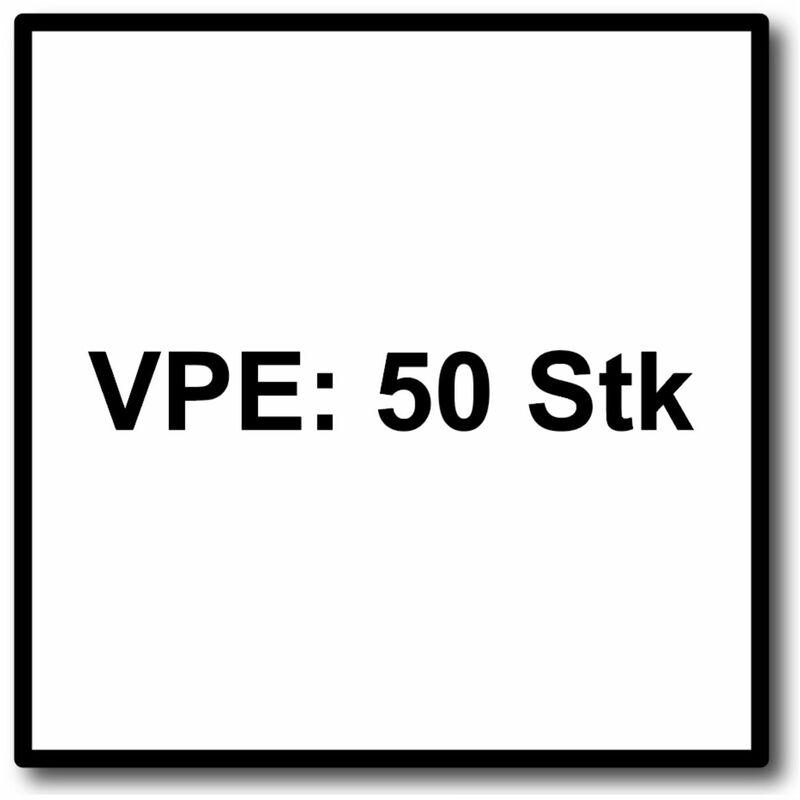 Fein E-Cut Carbide Pro Starlock Lame de scie 50 Pièces. 35 x 45 mm (
