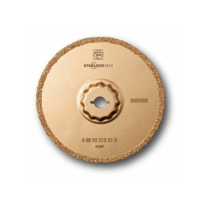 FEIN Lame à concrétion carbure SLM Ø 105 x 2,2, 5 Pce - 63502213230 - Fein
