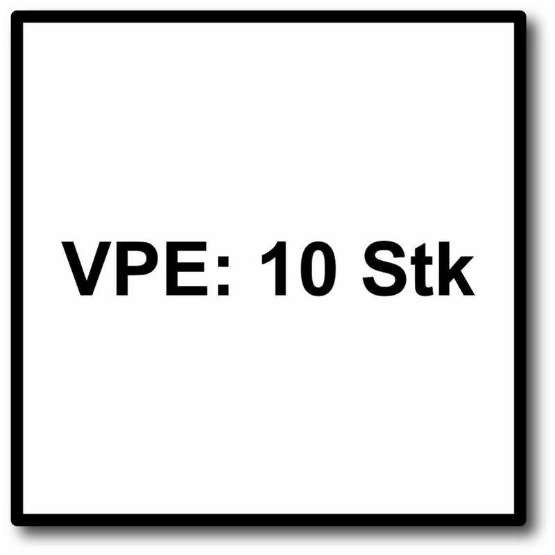 FEIN E-Cut Precision Starlock Lame de scie 10 pièces. 50 x 35 mm (