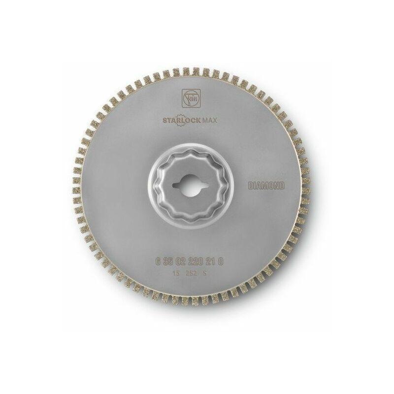 Fein Lame de scie diamantée SLM Ø 105 mm x 1,2 mm - 63502220210