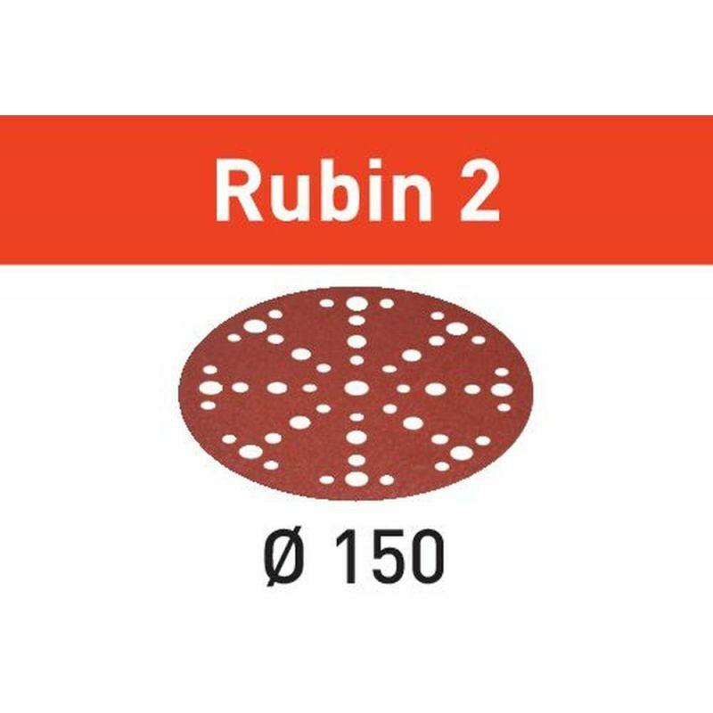 FESTOOL Abrasif STF D150/48 P150 RU2/50 Rubin 2 - Festool