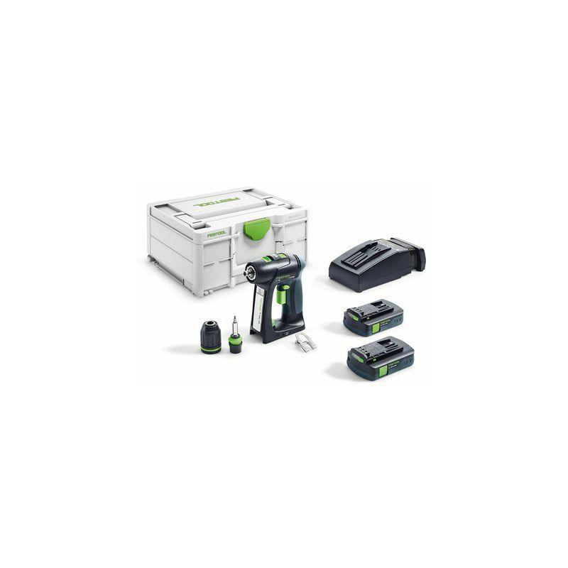 Festool Perceuse-visseuse sans fil C 18 C 3,1-Plus - 576437
