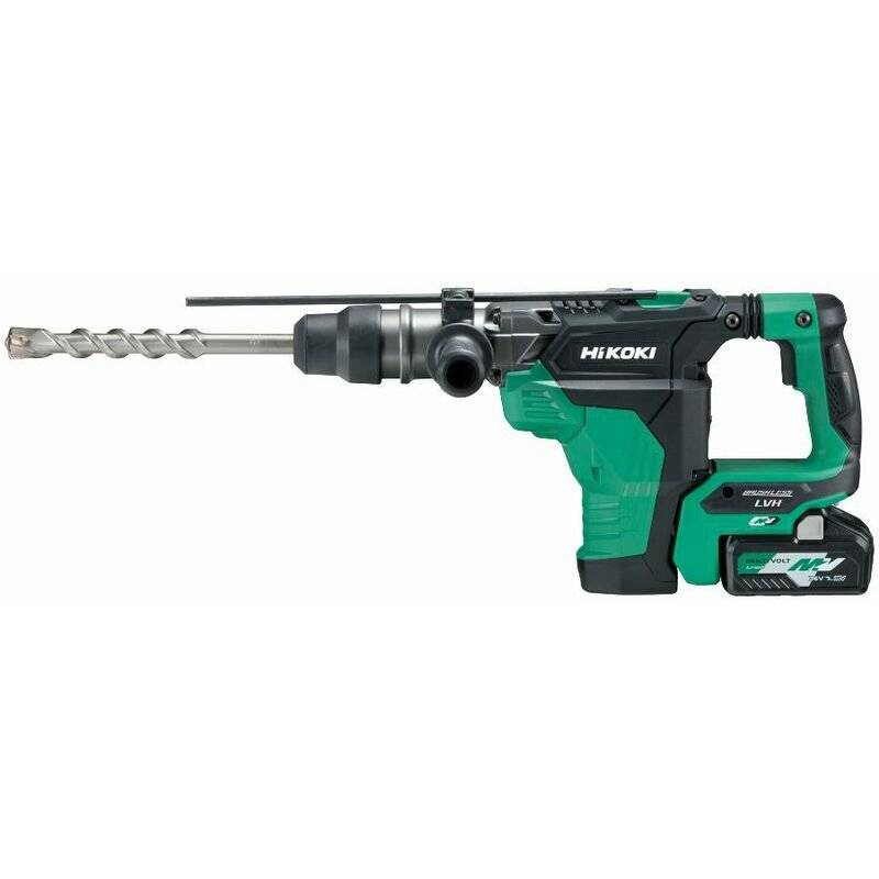 HIKOKI Perforateur burineur MultiVolt SDSMax 40mm 36V Brushless 7.1J - Sans
