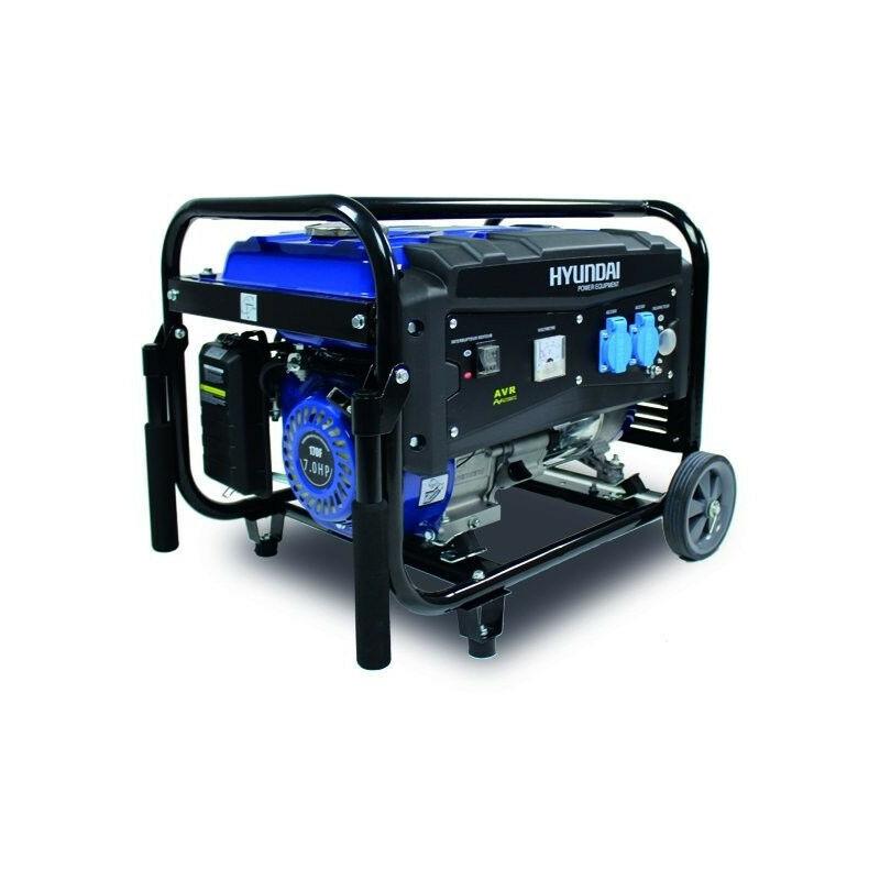 HYUNDAI Groupe électrogène essence de chantier 3000 W 2700 W - Système AVR