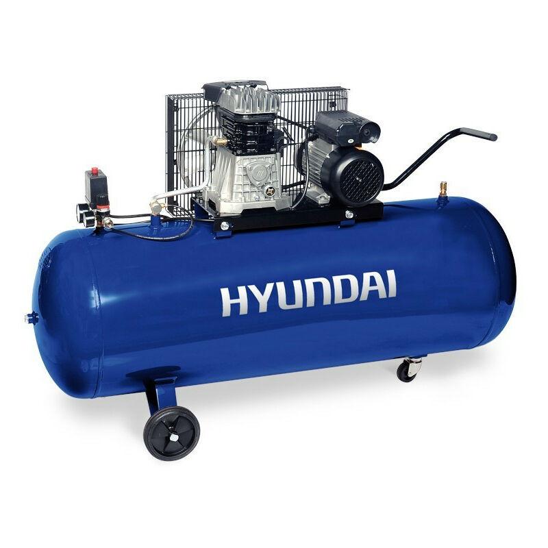 Hyundai E - HYUNDAI- HYACB200-3 Compresseur Pro 10 Bar 200 Litres