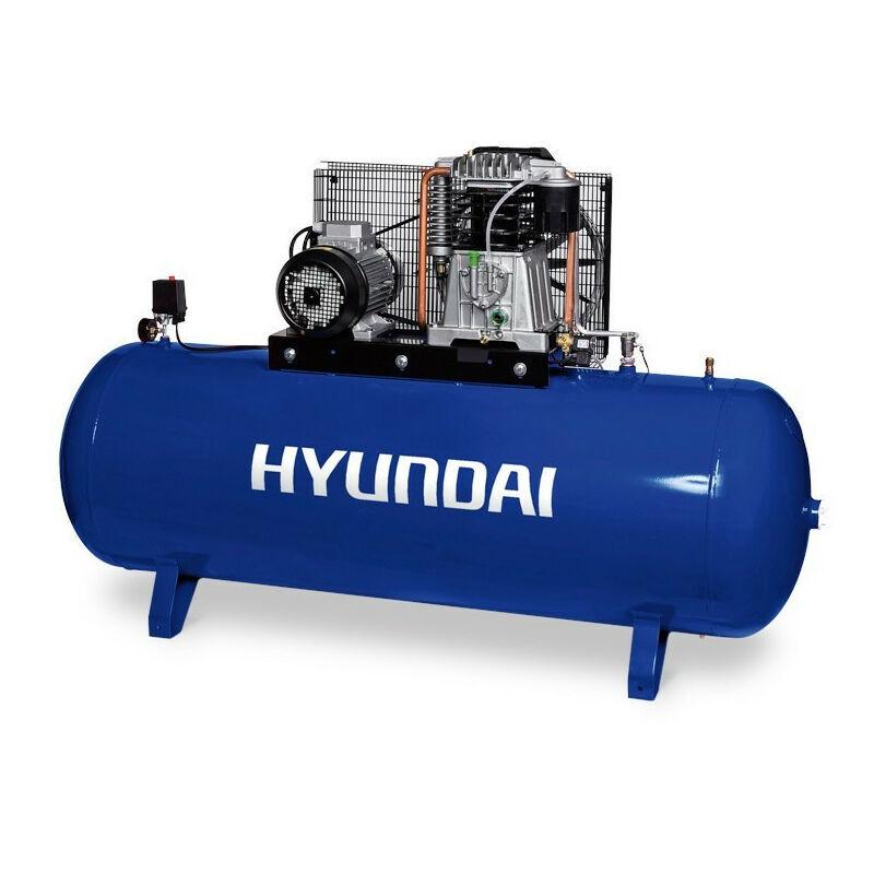 Hyundai E - HYUNDAI- HYACB500-8T Compresseur Pro 10 Bar 500 Litres