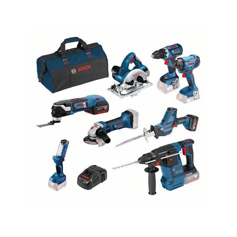 Bosch 0615990K9H - Toolkit sans fil 8 Toolkit 18V