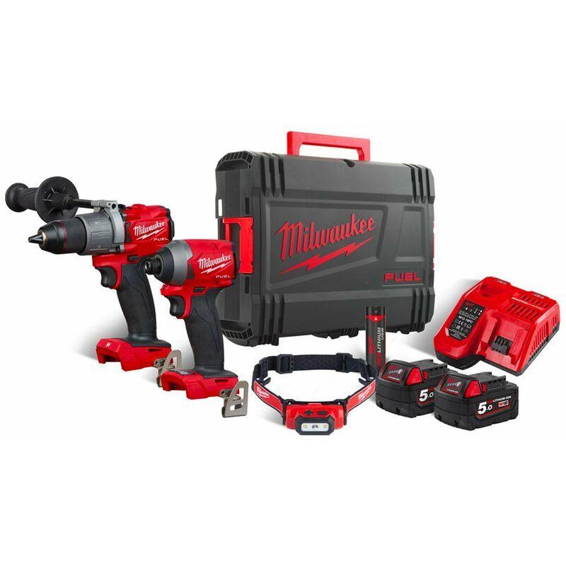 MILWAUKEE Kit Power Pack Milwaukee M18 FPP2A2-502XL