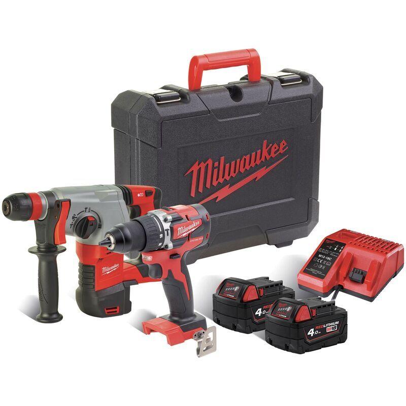 MILWAUKEE Kit Power Pack Milwaukee M18 PP2D-402C