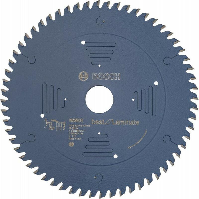FP Lame de scie circulaire 216x30 mm 60 Z TR-F BoschBest of Laminat - FP