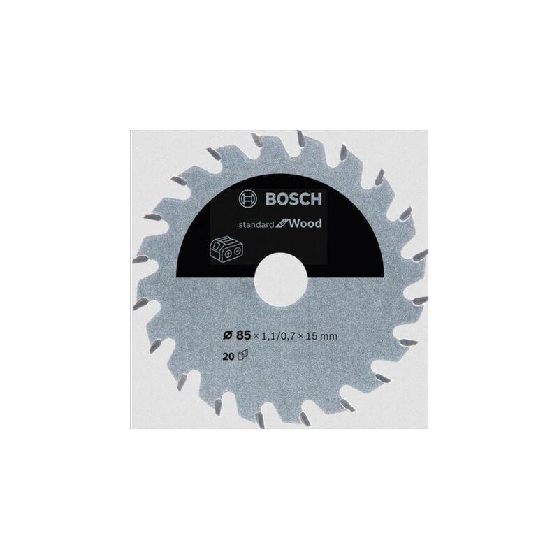 BOSCH ACCESSORIES Lame de scie circulaire Bosch Accessories 2608837666 85 x 15 mm Nombre
