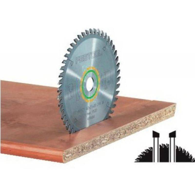 FESTOOL Lame de scie circulaire carbure denture fine alternée diamètre 160 mm