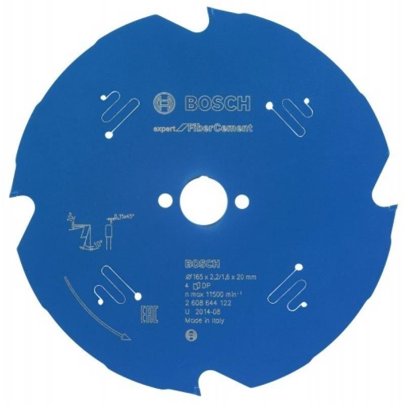 BOSCH Lame de scie circulaire diamant Expert diamètre 190 mm, alésage 30 mm,