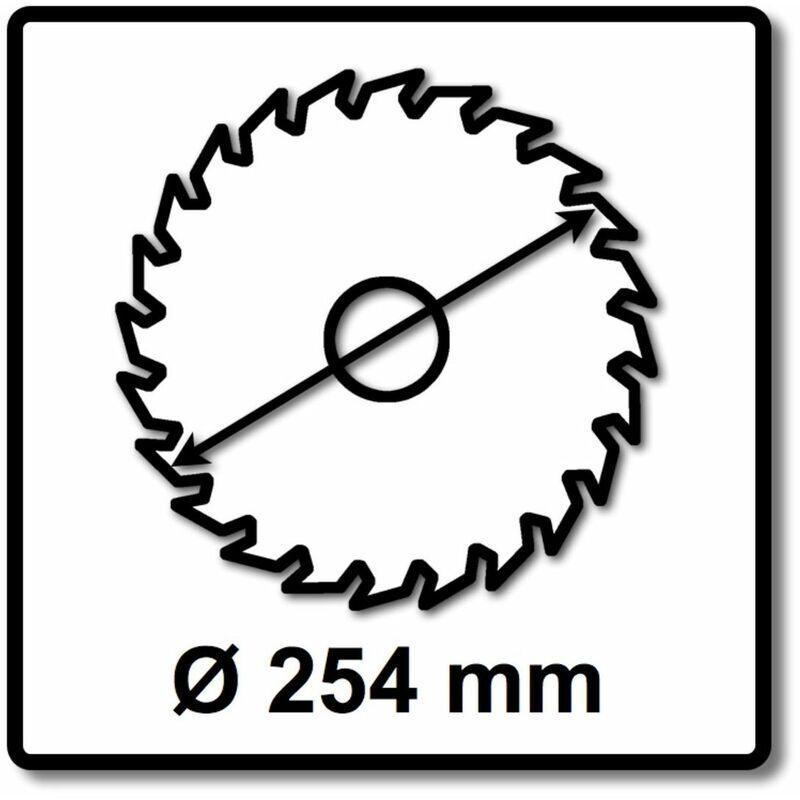 Festool TF80 L 254 x 2,4 x 30 mm Lame de scie circulaire spéciale pour