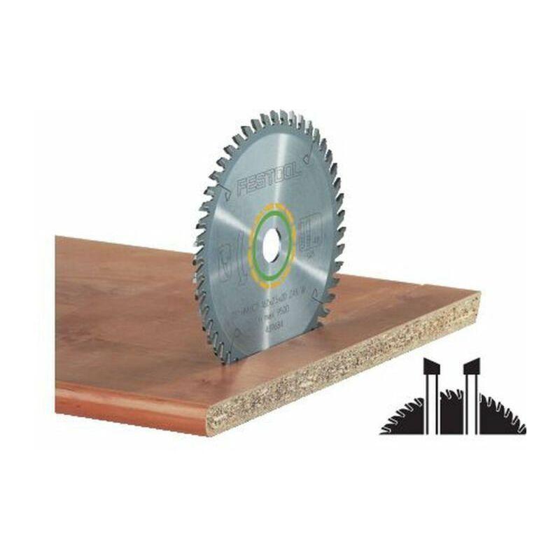 FESTOOL Lame de scie circulaire Festool 210 x 2,4 x 30 W52 - 52 dents - Coupes