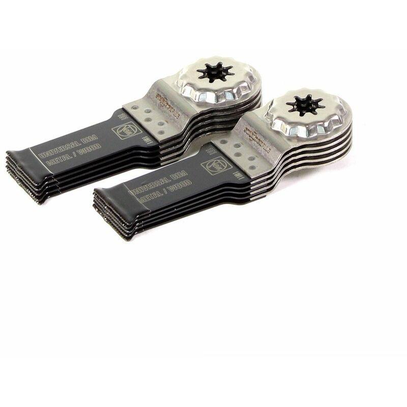 FEIN Lame de scie universelle E-Cut Starlock Plus 60 x 28 mm, 10 pcs. (