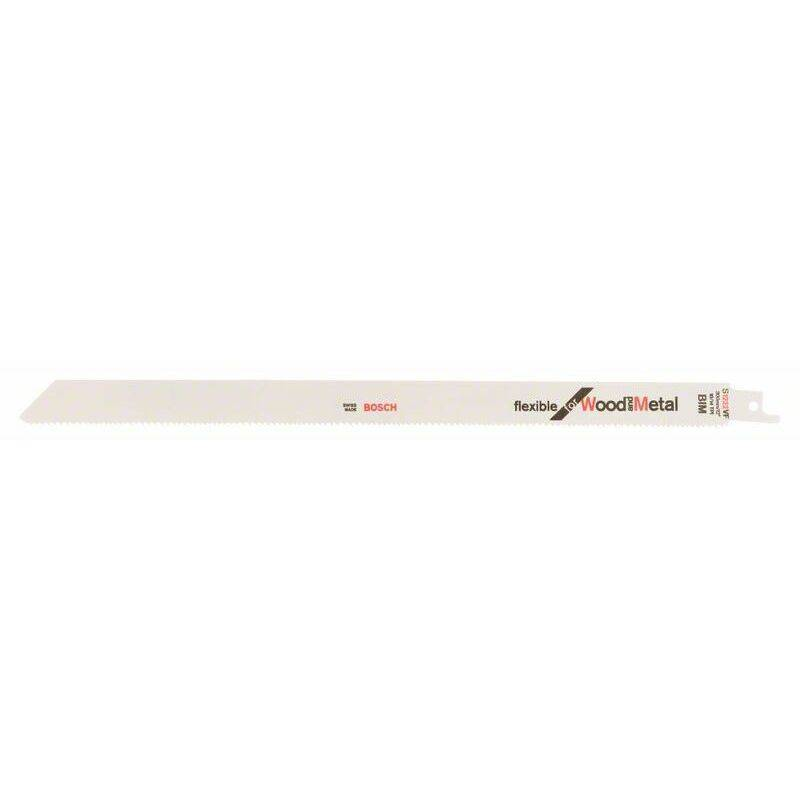 Bosch Lame de scie sabre S 1222 VF Flexible for Wood and Metal