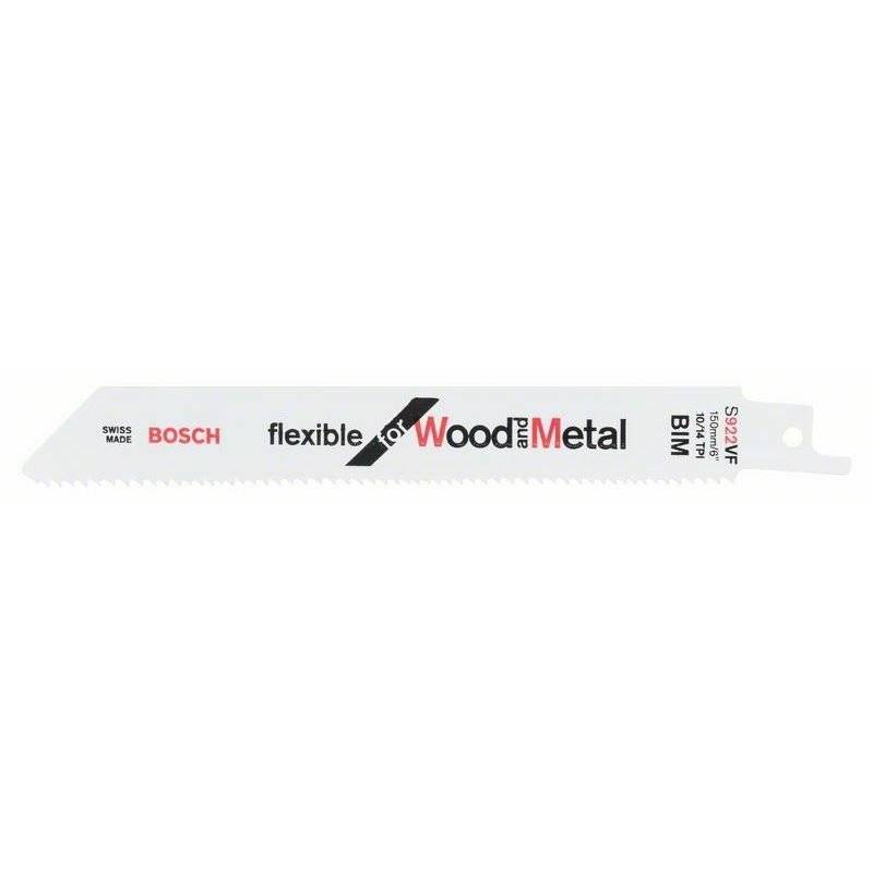Bosch Lame de scie sabre S 922 VF Flexible for Wood and Metal