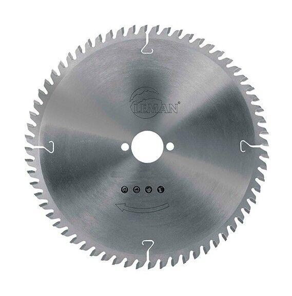LEMAN Lame carbure pour portative D. 235 x Al. 30 mm. x 64 dents alt. pour