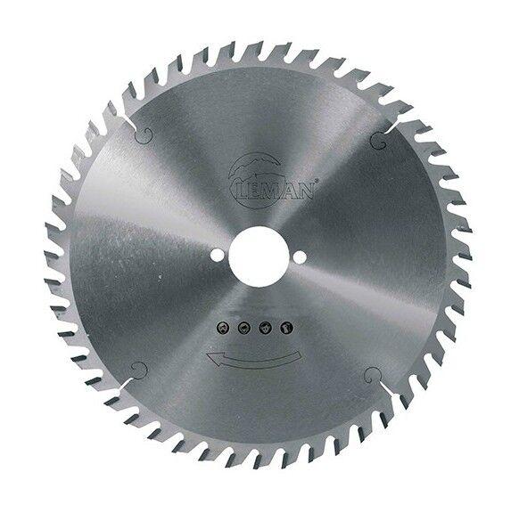 LEMAN Lame carbure pour portative D. 255 x Al. 30 mm. x 80 dents tp pour alu