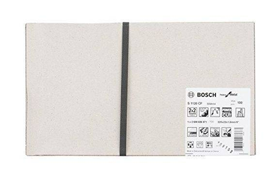 Bosch lame de scie sabre pour le métal S 1120 CF BIM Heavy for Metal