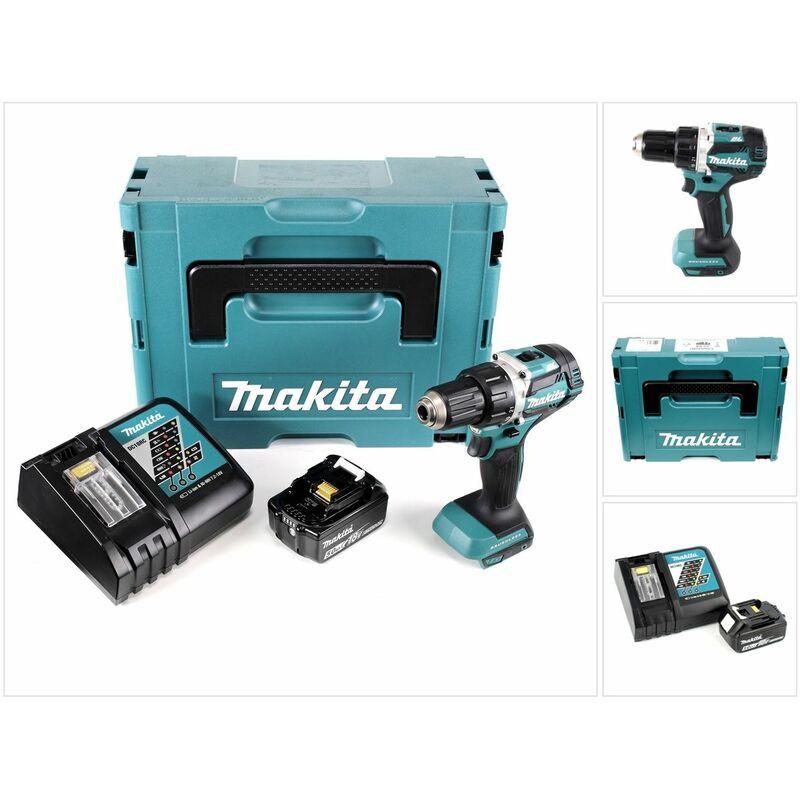 Makita DDF 484 RT1J 18 V Perceuse visseuse sans fil Brushless 54 Nm