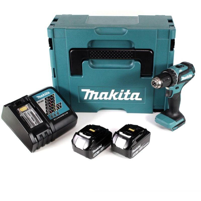Makita DDF 485 RTJ 18 V Li-Ion Perceuse visseuse sans fil Brushless 13