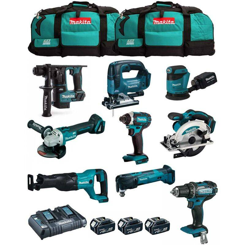 MAKITA Kit MK901 (DDF482 DHR171 DGA504 DTD152 DJV182 DSS610 DJR186