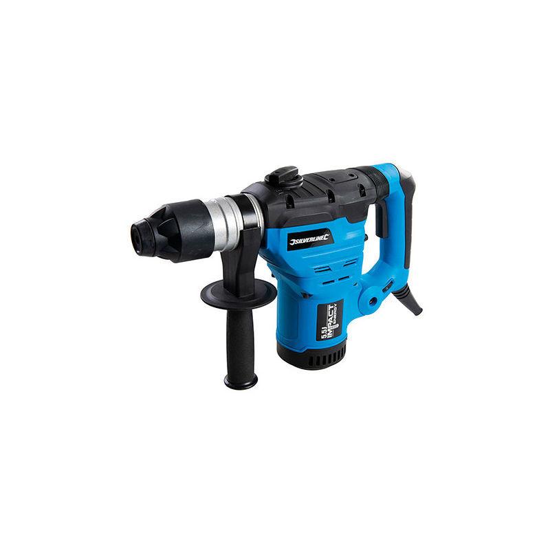 SILVERLINE Marteau perforateur burineur SDS Plus 1500 W 230V (UE) - 982593