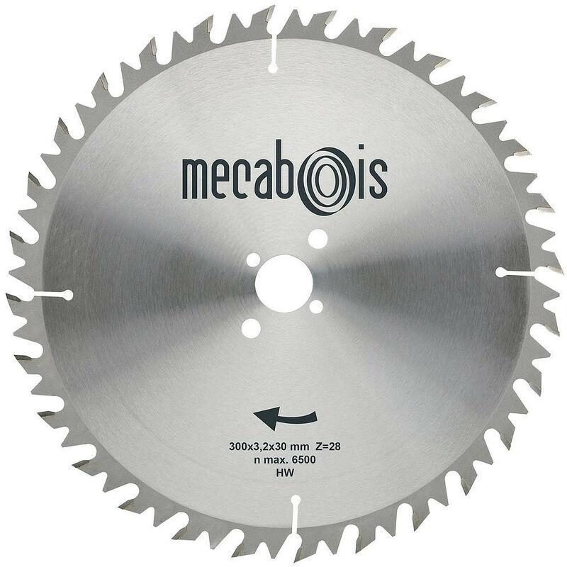 MECABOIS Sidamo - Lame Carbure Anti-Recul Lwz 600x4.2x30 - 52 Dents - TNT