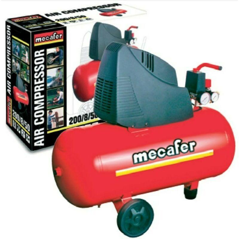 NO NAME Compresseur Mecafer 50 Litres 1,5cv - NO NAME