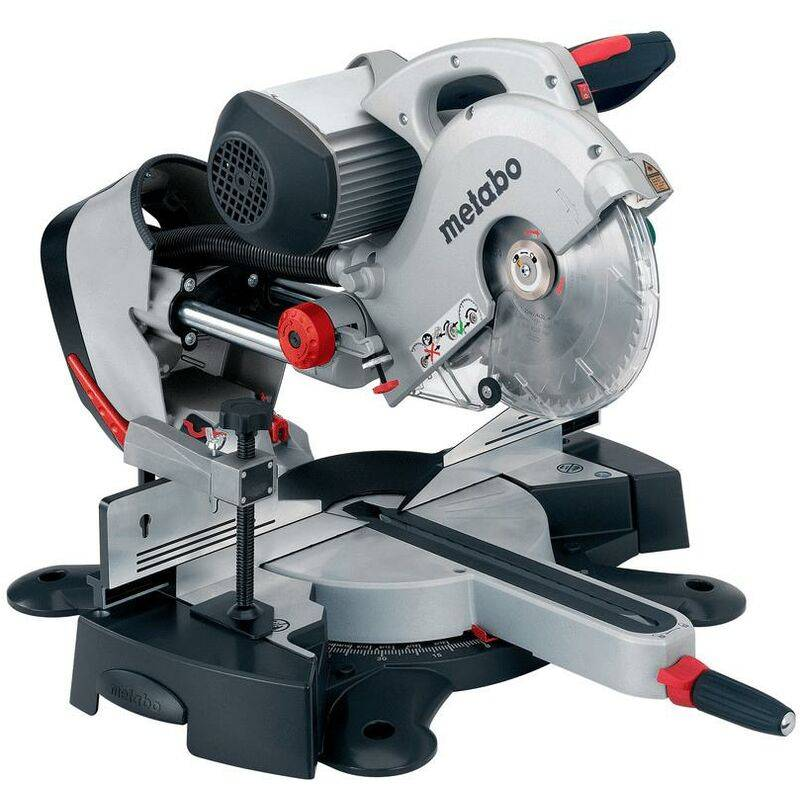 Metabo KGS 254 I Plus scie à onglet radiale