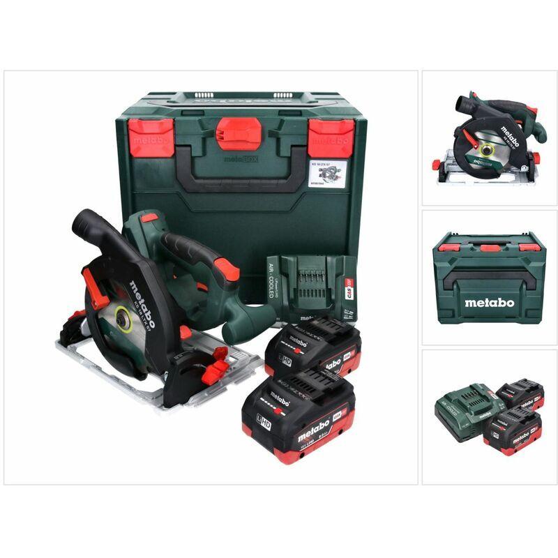 Metabo KS 18 LTX 57 Scie circulaire sans fil 18V 165x20mm + 2x