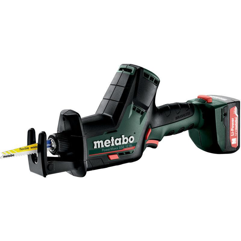 Metabo SCIE SABRE SANS FIL POWERMAXX SSE 12 BL (602322500) 12 V 2 Ah,