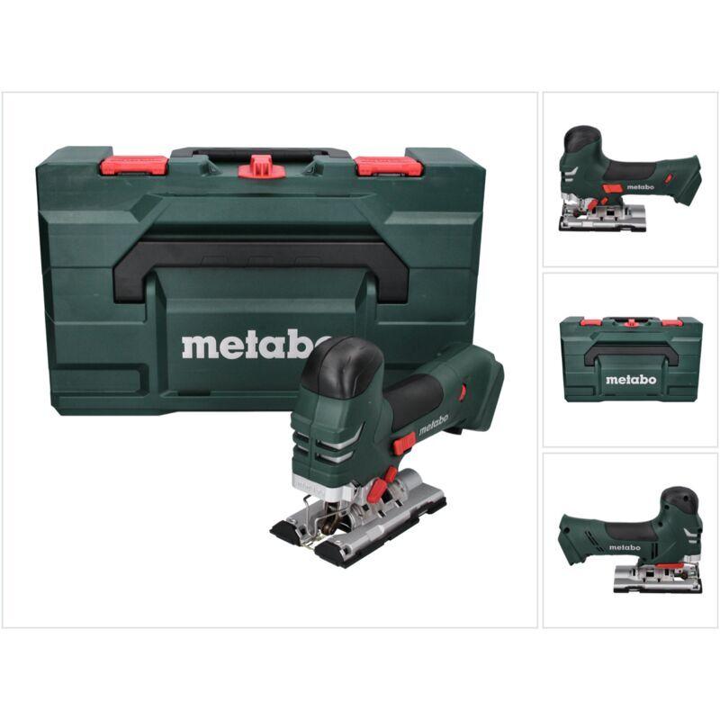 Metabo STA 18 LTX 140 Scie sauteuse sans fil 18 V + Coffret MetaLoc (