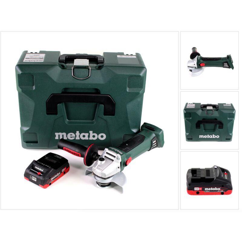 Metabo W 18 LTX 125 Quick Meuleuse d'angle sans fil 18V 125mm (