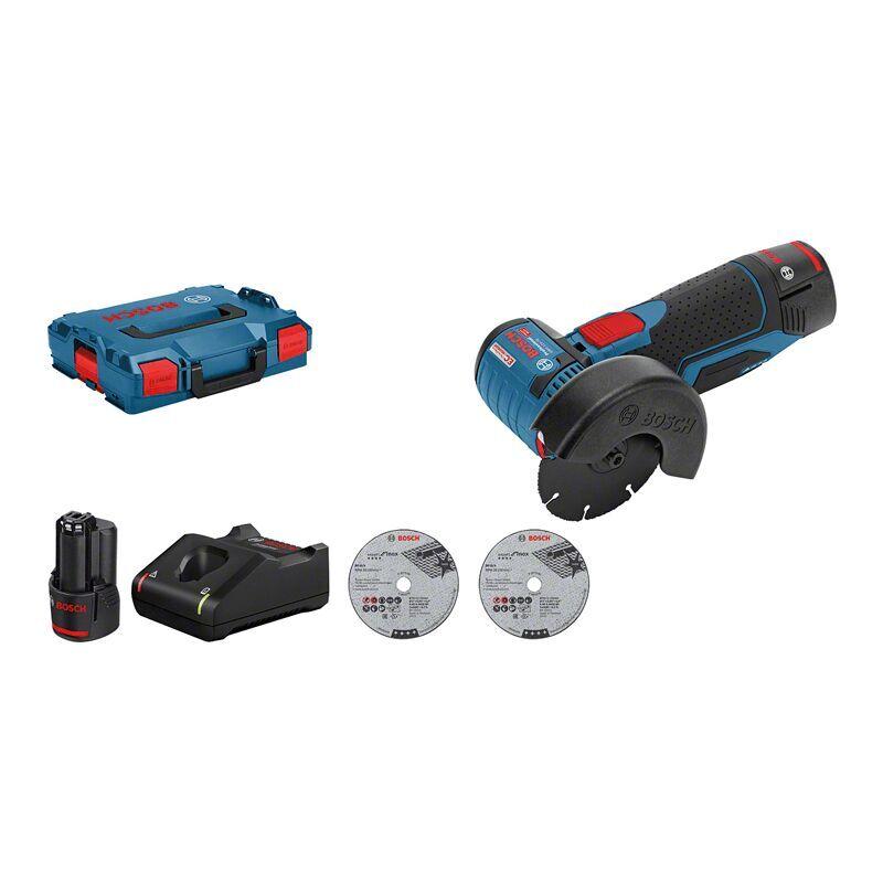 Bosch Professional Meuleuse angulaire sans fil GWS 12V 76 dans L Boxx 2