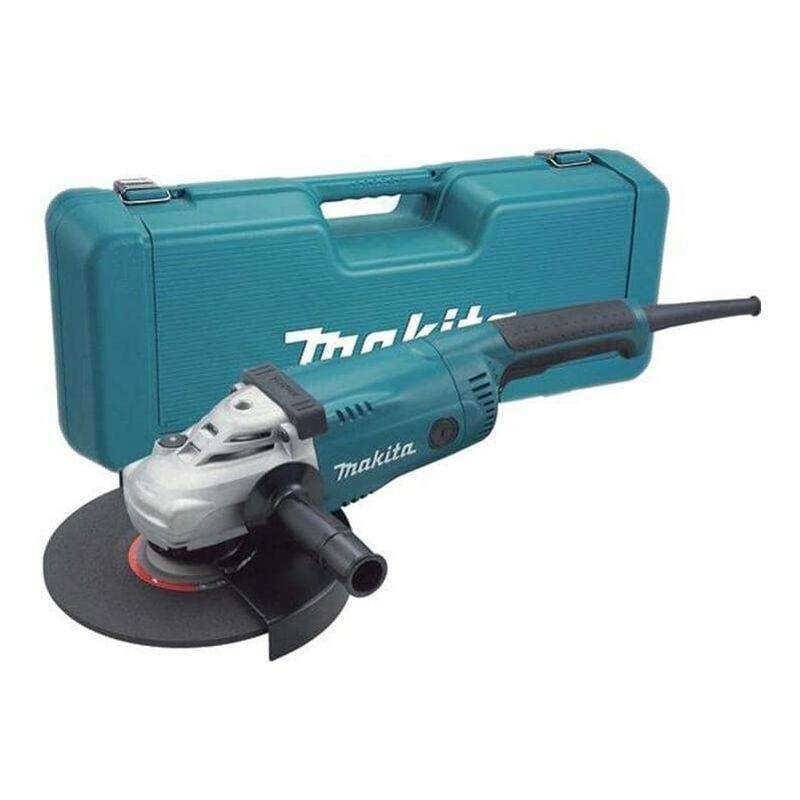 MAKITA Meuleuse d'angle Ø230mm 2200W dans valise synthétique - MAKITA GA9020K