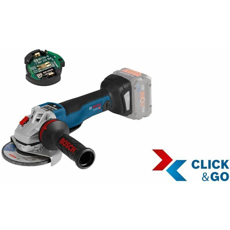 Bosch Meuleuse d'angle sans fil GWS 18V-10 PSC. avec GCY 30-4. L-BOXX