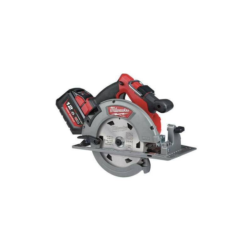 MILWAUKEE Scie circulaire 66mm MILWAUKEE M18 FUEL FCS66-121C - 1 batterie 12 Ah