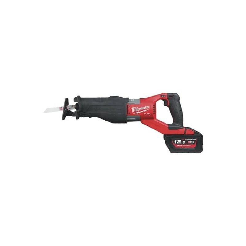 MILWAUKEE Scie sabre MILWAUKEE FUEL Sawzall M18 FSX-121C - 1 batterie 18V 12.0 Ah