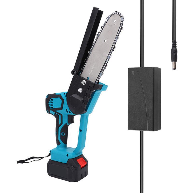 HAPPYSHOPPING Mini scie a chaine electrique sans fil de 8 pouces Scie electrique au