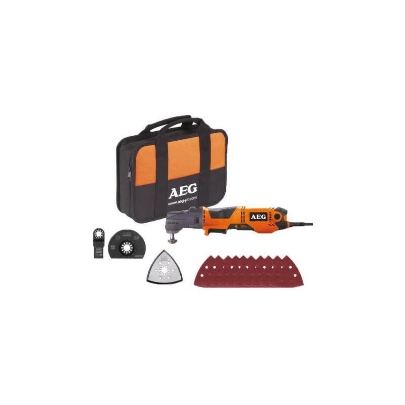 A.e.g - Outil multifonctions électrique AEG 300W OMNI-300KIT1