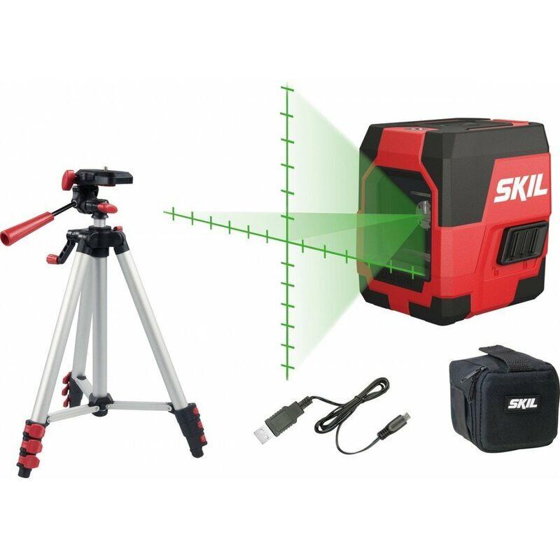 SKIL Niveau laser en croix + trepied SKIL