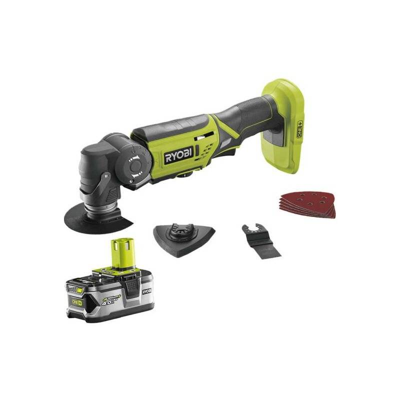 RYOBI Outil multifonctions 18V OnePlus LithiumPlus - 1 batterie 4.0Ah - 1