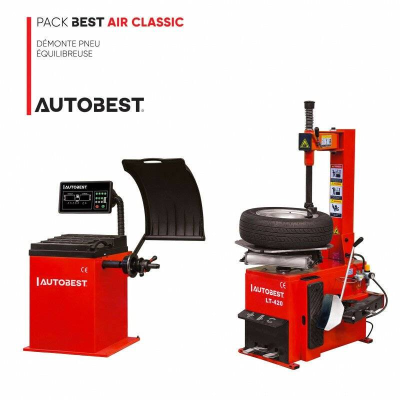 Autobest - Pack BEST AIR CLASSIC démonte pneu et equilibreuse