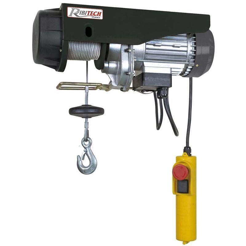 RIBIMEX Palan électrique moufle 1200 W 300/600 kgs