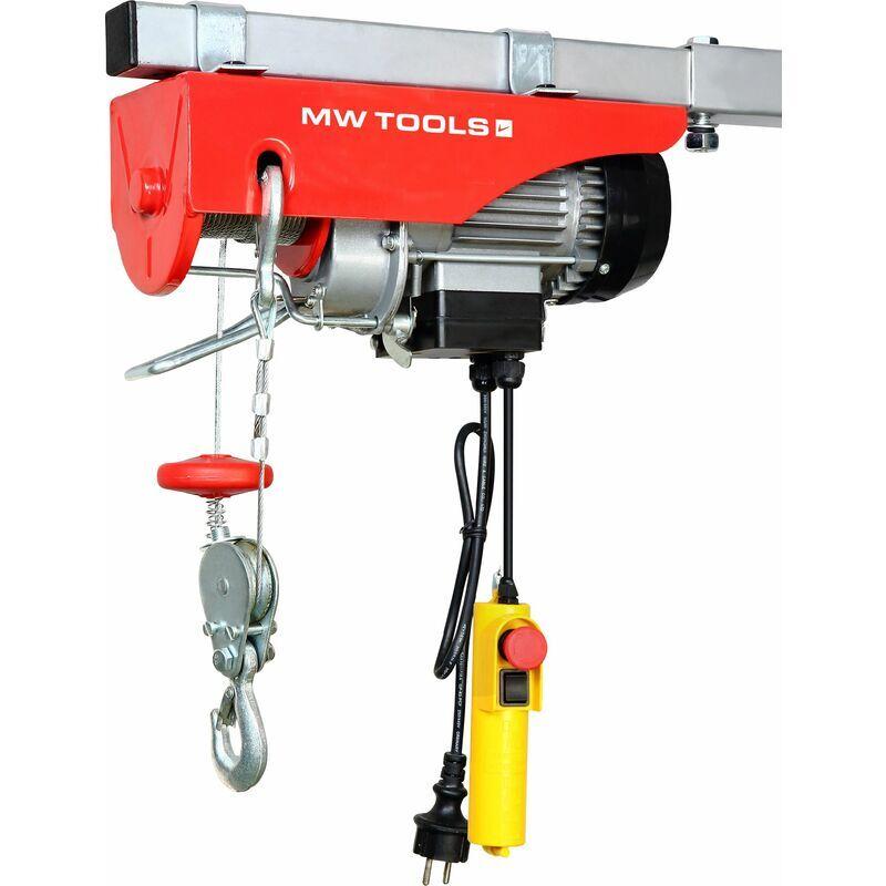 MW-TOOLS Palan électrique robuste 300/600 kg MW-Tools SH300/600-18
