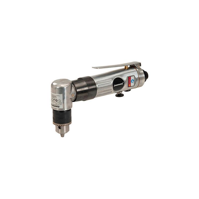 SILVERLINE Perceuse D. 10 mm pneumatique 1/4 à renvoi d'angle - 361429